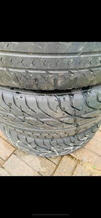 Used 205/60R16 Michelin tires with Konig Crown rims  for