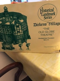 Dept. 56 Dickens Village Old Globe Theater Tallahassee, 32309