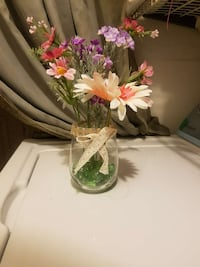 assorted flowers in glass vase Los Angeles, 90023