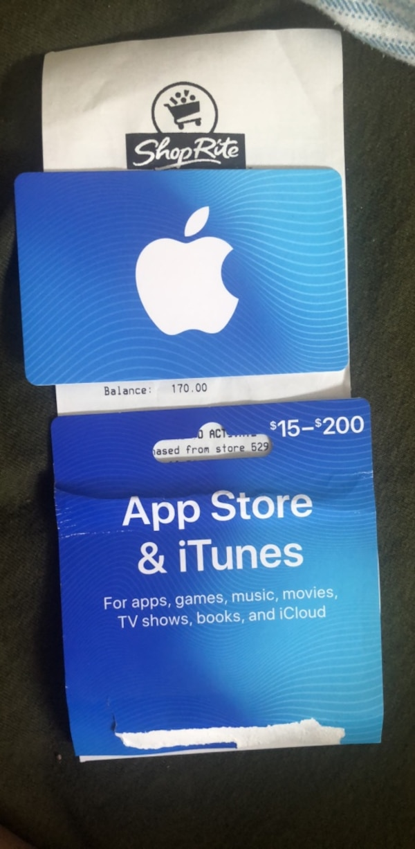 Apple Store and iTunes Gift Card