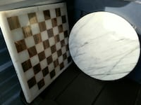 Marble chess board & lazy susan Vancouver, 98684