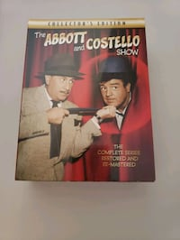 The Abbott and Costello Show The complete  Series Collectors Edition   Las Vegas, 89144