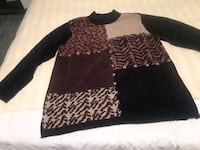 Brown mix tunic sweater Birmingham, 35215