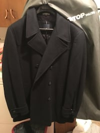 Daniel Hechter Paris Dress coat! Worn once! 4 button up, 2 inner pockets Wool blend! Amazingly warm! $100 obo bought at tip top tailors for $250