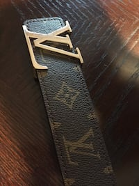 Louis Vuitton Monogram canvas Initiales belt