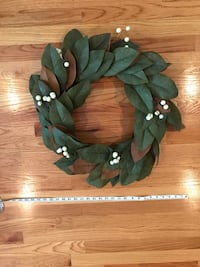 Magnolia leaf wreath!  Chicago, 60641