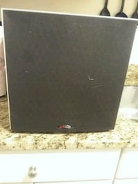 Polk Audio Subwoofer    and you the center speaker free Polk Audio  Gaithersburg, 20879