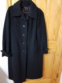 Lady's Wool  Black Coat Size 12 Brooklyn, 11214