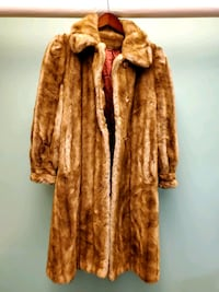 1970's Tissavel France Faux Mink Fur High Collar Women's Long Coat  Toronto, M5A 3H7