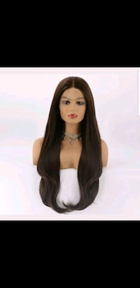 Lace front heat resistant wig Japanese fiber