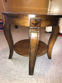 Vintage Round Classic Table And glass center Alamo Heights, 78209