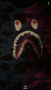 Real bape shirt rarely worn good condition  Kitchener, N2E 3W1