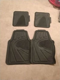 two black car floor mats Beltsville, 20705