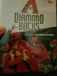 Arizona Diamondbacks DVD The First 10 Seasons  Mesa, 85205