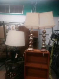 two white and brown table lamps  Honolulu, 96814