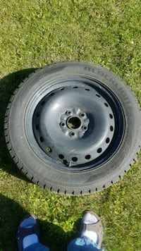 4 winter tires 235/55r18 with rims and sensors Capreol, P0M 1H0
