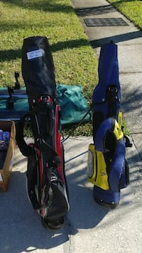 Golf clubs and bags negotiable