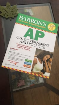 BARRON'S TEST PREP AP U.S. GOVERNMENT AND POLITICS Clarksburg, 20871