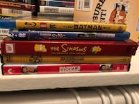 assorted DVD movie case collection Houston, 77090