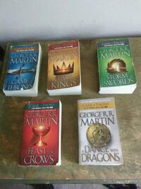 Game of Thrones book series Denver, 80226
