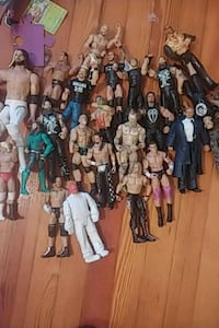 Whole lot of WWE Figures  Kingsport, 37660