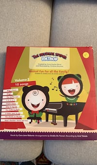 Piano teaching music spider method