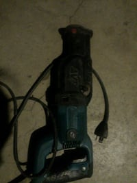 black and blue corded angle grinder Edmonton, T5R 2E1