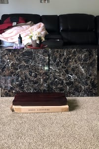 Two brand new never used Ashley furniture end tables