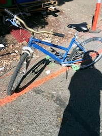 blue and black hardtail bike Emeryville, 94608