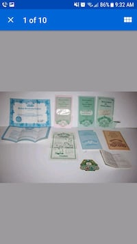 Cabbage Patch Kids Adoption Papers & Certificates Kissimmee