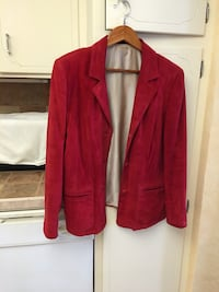 Red sued jacket