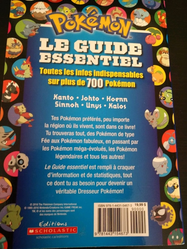 Pokemon Book Livre