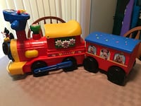 Mickey Mouse battery powered train with caboose Machesney Park, 61115