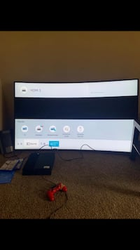Samsung Smart Curved TV 65 inch