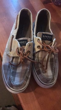 pair of gray Sperry boat shoes Kissimmee, 34758