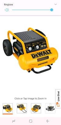 Dewalt Portable Eletric air compressor Hyattsville, 20783