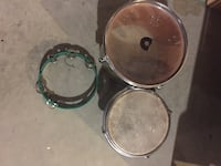 Drums two of them and another noise maker instrument Rocky View No. 44, T1Z 0A8