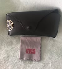 Ray-Ban Licensed Official Sunglass / Glasses Case with Cleaning Cloth