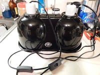 ZOO MED LARGE DOUBLE DOME TERARIUM LIGHT $18 - $1 Monrovia