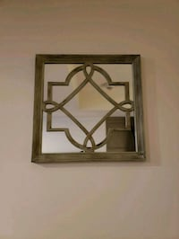 brown wooden framed wall mirror Thorold, L2V 0A6