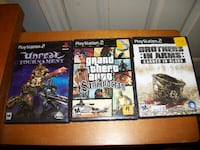 Three PS 2 Games Sold as a Bundle TORONTO