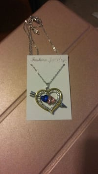 Silver plated heart necklace Fredericksburg, 22407