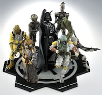 STAR WARS - BOUNTY HUNTER SET (ALL SIX INCLUDED)