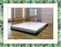 Single euro pillowtop mattress queen free box&ship Laurel, 20707