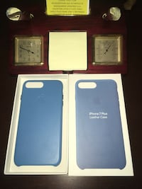 Oem iPhone 7 Plus Leather case Cover Blue Falls Church, 22042