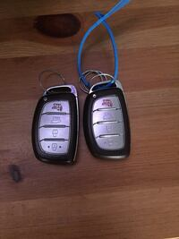 Programmable key fob for any Hyundai Laurel, 20708