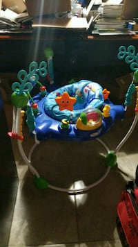 baby's blue and green jumperoo Jarrell, 76537