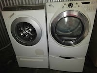 Like new front load washer & dryer.