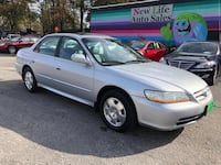 Honda Accord Sdn 2002 Charleston