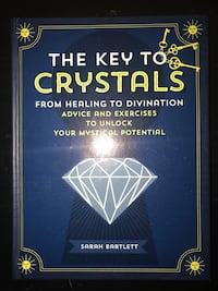 The Key to Crystals by Sarah Bartlett book Central Point, 97502